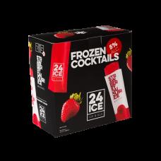 24 ICE Strawberry Daiquiri Frozen Cocktail XL Doos 50 stuks