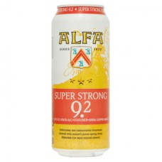 Alfa Super Strong Tray 12 Blikjes 50cl