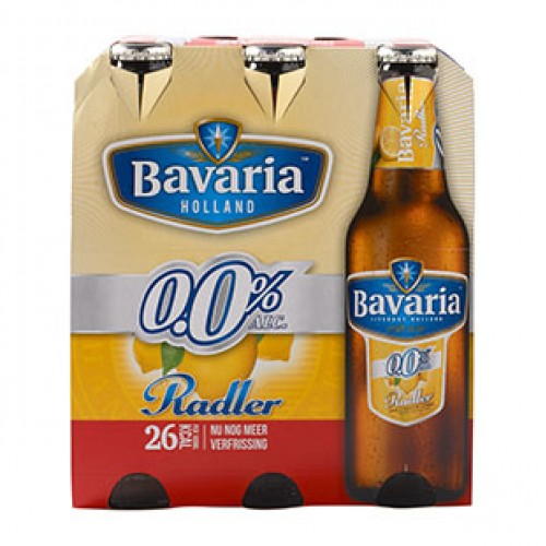 bavaria radler lemon 0 0 alcoholvrij bier kopen en. Black Bedroom Furniture Sets. Home Design Ideas