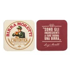 Birra Moretti Bierviltjes Pak 2x Rol 100 stuks