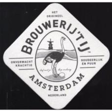 Brouwerij 'T Ij Bierviltjes Rol 100 stuks