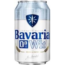 Bavaria Witbier 0.0 Blikjes Tray 24x33cl