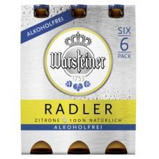 Warsteiner Radler 0.0 Alcoholvrij Bier Krat 24x33cl