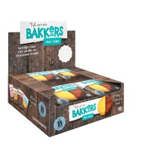 Duo Cake Vanille- Cacaosmaak Displaydoos 12 stuks 75 gram Boom