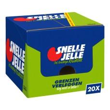Snelle Jelle Kruidkoek Displaydoos 20 stuks 70 gram