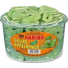 Haribo Appelringen Snoepjes Silo Emmer 150 stuks