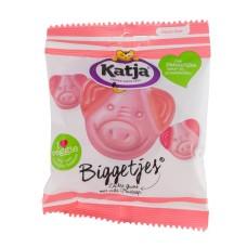 Katja Biggetjes Vegetarisch Snoep Doos 24 zakjes 70 gram