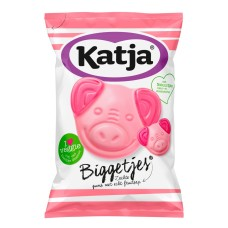 Katja Biggetjes Snoep 12 zakken 280 gram