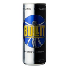 Bullit Energy Drink Blik Tray 24x25cl