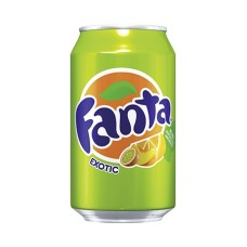 Fanta Exotic Blikjes Tray 24x33cl