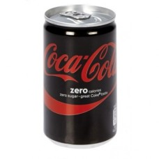 Coca Cola Zero Kleine Mini Blikjes 150ml Tray 24x150ml