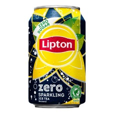 Lipton Ice Tea Zero Blikjes Tray 24x33cl