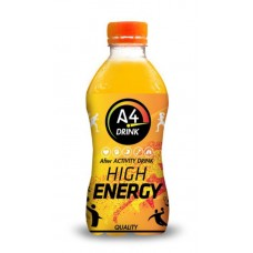 A4 Drink High Energy Orange, Doos 24x33cl