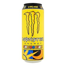 Monster The Doctor Valentino Rossi Blikjes Tray 12 Blikjes 50cl