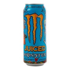 Monster Juice Mango Loco Energy Drink Tray 12x50cl