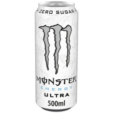 Monster Zero Ultra Energy Drink Blikjes, Tray 12x50cl