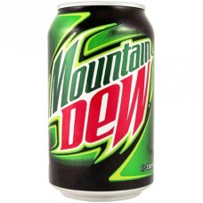 Mountain Dew Energy Drink Blik Tray 24x33cl