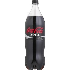 Coca Cola Zero Pet Fles, in Krat 12x1 Liter
