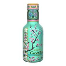 Arizona Green Tea Flesje 50cl Tray 6 Stuks