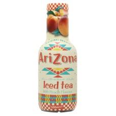 Arizona Perzik Iced Tea Flesje 50cl Tray 6 Stuks