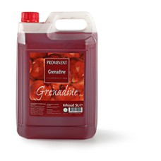 Prominent Limonadesiroop Grenadine Can 5 Liter