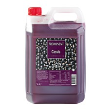 Prominent Limonadesiroop Cassis, Can 5 Liter