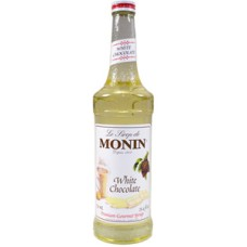 Monin Chocolate White Siroop 70cl