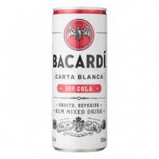 Bacardi Cola Blik, Tray 24x25cl