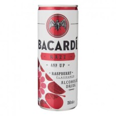 Bacardi Razz Up Premix Blik Tray 12x25cl