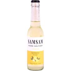 SamSam Hard Seltzer Lemon Flesjes 33cl Tray 24 Stuks