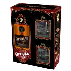 Offrian Rum 8 Years Geschenkset met 2 glazen