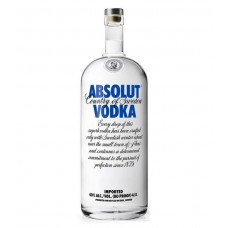 Absolut Vodka MEGA XXL fles 4.5 Liter!
