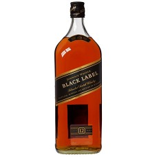 Johnnie Walker Black Label Whisky 3 Liter