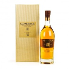 Glenmorangie 18 Jaar Scotch malt Whisky 70cl + Giftbox