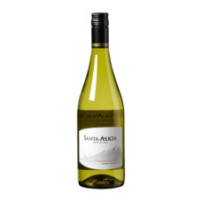 Santa Alicia Chardonnay Droge Witte Wijn Chili Doos 6x75cl