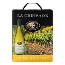 La Croisade Chardonnay 3 Liter Bag in Box met tap kraantje!