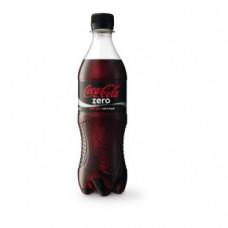Coca Cola Zero Plastic Pet 50cl Flesjes, Tray 12x50cl
