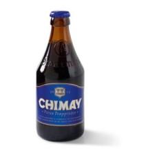 Chimay Blauw Trappisten Bier Fles, Krat 24x33cl