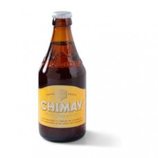 Chimay Wit Tripel Trappisten Bier Fles, Krat 24x33cl