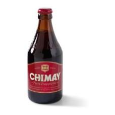 Chimay Rood Trappisten Bier Fles, Krat 24x33cl