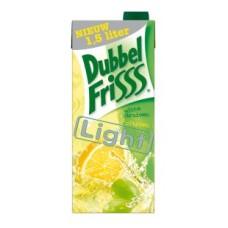 Dubbelfrisss Witte Druif Citroen Light Pak Tray 8x1,5 Liter