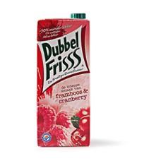 Dubbelfrisss Framboos Cranberry Pak Tray 8x1,5 Liter