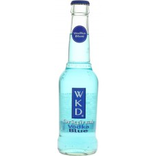 Wodka Blue Energy (WKD) PET Plastic Premix Glas Tray 24x27,5cl