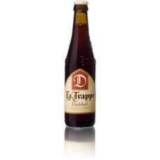 La Trappe Dubbel Bier Fles, Krat 24x33cl