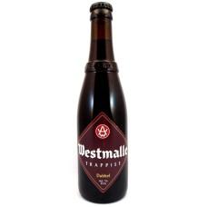 Westmalle Dubbel Trappist Bier Fles Krat 24x33cl