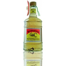 Scorpion mezcal reposado 100% agave 70cl