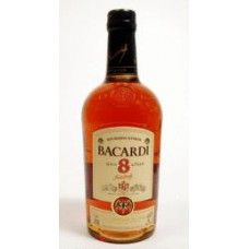 Bacardi Ron Anos 8 Years Rum Fles 70cl
