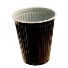 Automaat Koffie bekers Bruin-Wit Pak 300x180cc