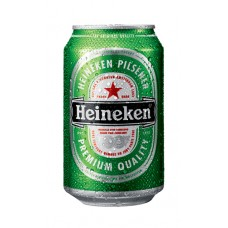 Heineken Bier Blikjes, Tray 4x6x33cl Six-Packs
